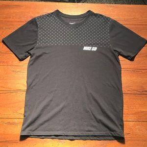Nike SB Black Gray Dot Athletic TShirt